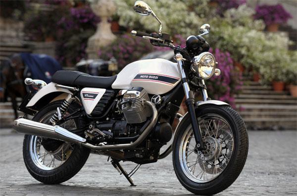Moto Guzzi V7 Profilo