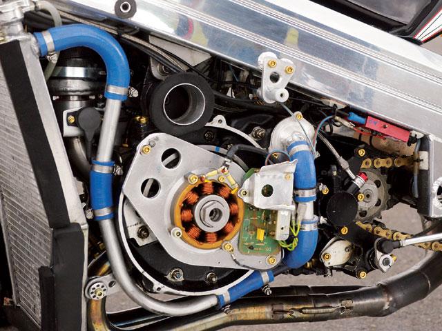 Motore norton nrv588