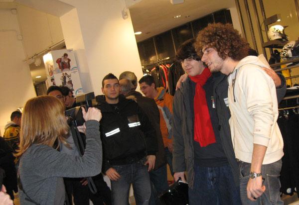 Simoncelli e i suoi fan