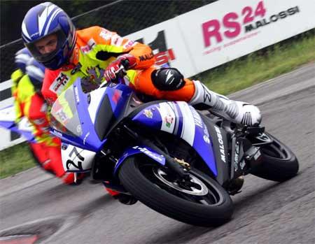 Federico Agnoletto trionfa nel trofeo Yamaha  R 125