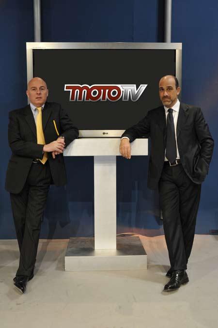 Carlo Braccini e Giorgio Bungaro di MotoTv - Agm