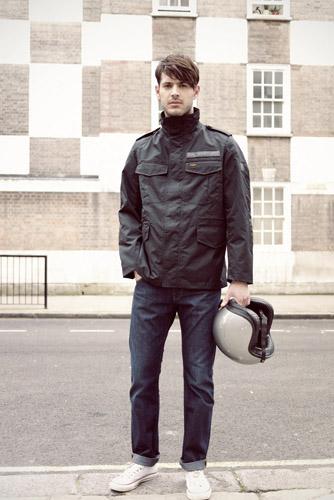 Uomo British Armadillo Scooterwear