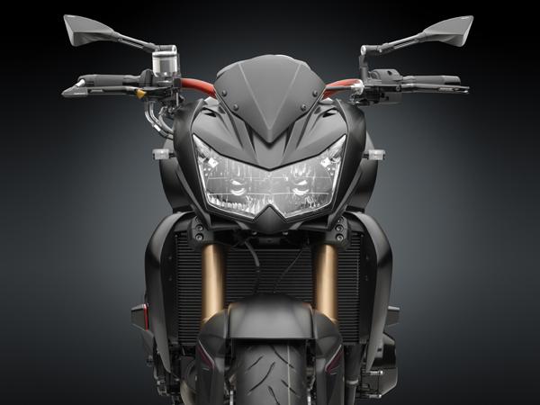 particolare Kawasaki Z750R