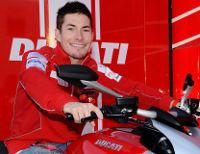 Hayden & Ducati Diavel