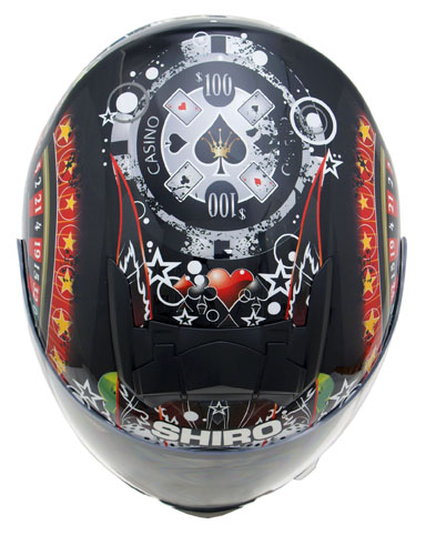 Shiro casino helmet