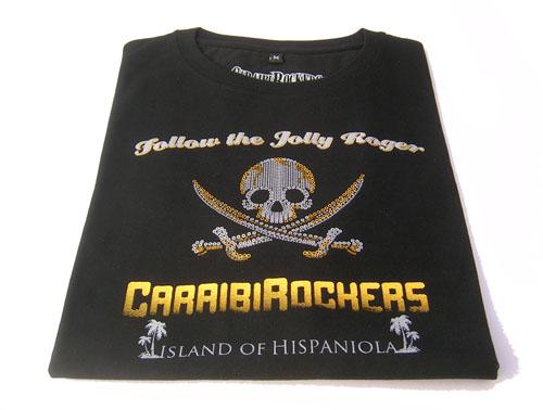 T-shirt CaraibiRockers