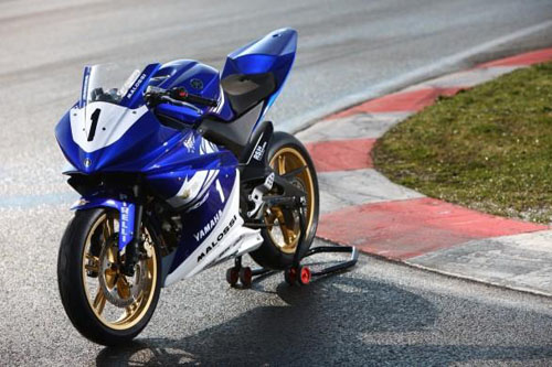 Yamaha R125 Cup nella MiniGP