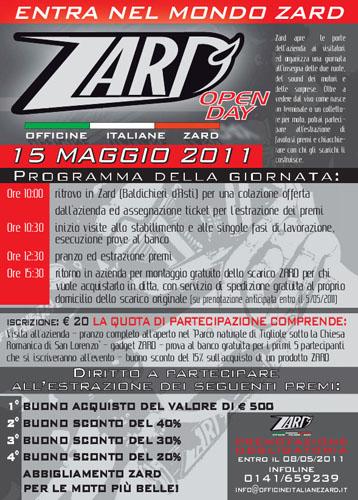 Open Day Zard - 15 Maggio 2011