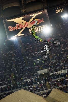 Nate Adams, vincitore del Red Bull X-Fighters World Tour