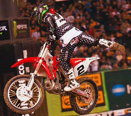 Jeremy Mc Grath al Supercross di Genova