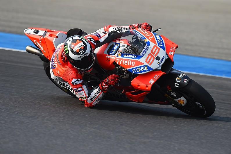 Jorge Lorenzo Ducati 2018