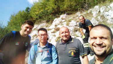 Turista Cinese disperso Rieti Lago Turano