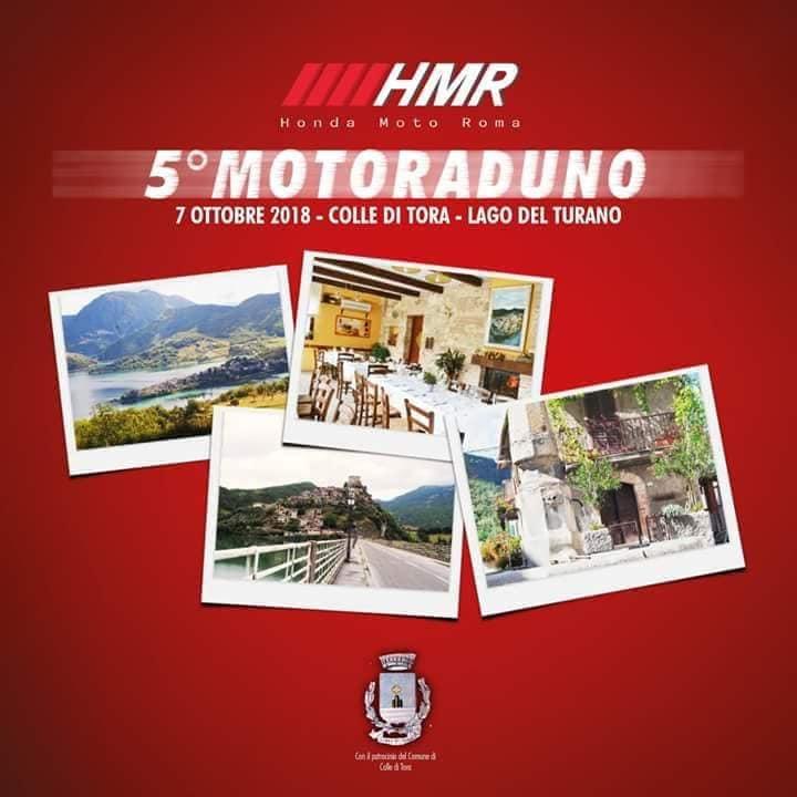 Motoraduno Locandina HRM Roma Turano 2018