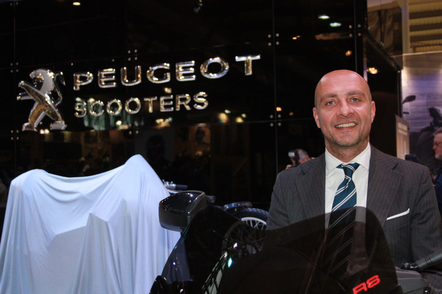 Domenico Lojacono, Country Manager di Peugeot Motocycles Italia
