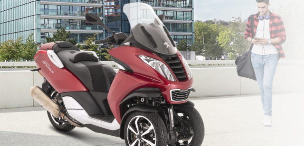 Noleggio moto Peugeot Motocycles PMove