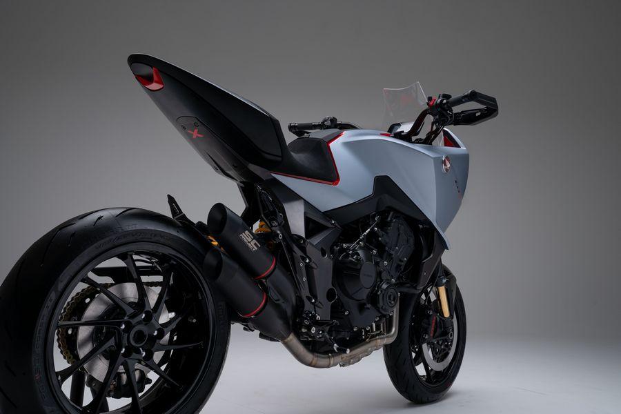 Scarico Honda CB4 X Concept