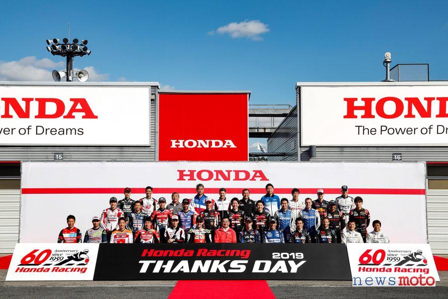 Piloti Honda Racing Thanks Day 2019
