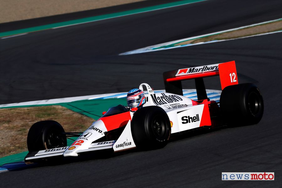 McLaren Honda MP4/4 di Ayrton Senna