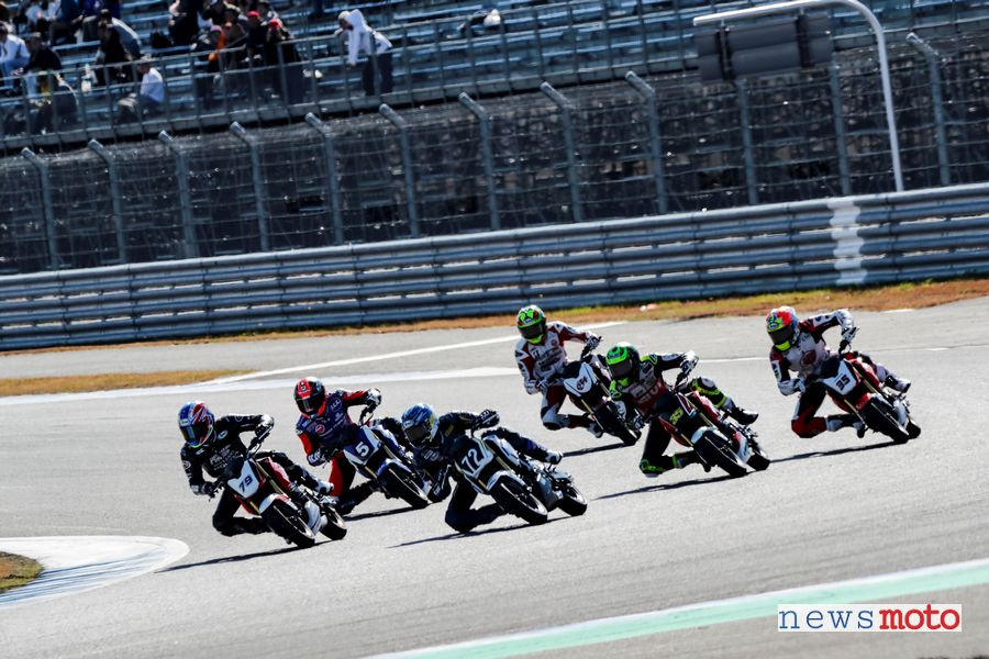 Gara delle MSX 125 Grom all'Honda Racing Thanks Day 2019