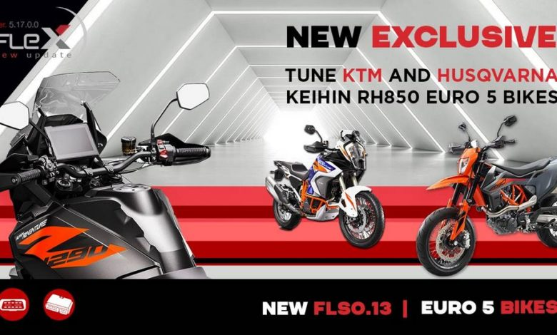 Centralina moto, Flex Magicmotorsport per KTM e Husqvarna